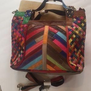 Handbags - NWT Patchwork Leather Bag